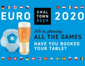 Watch The Euros at The Huxley