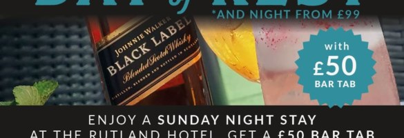 Rutland Hotel Day Of Rest Offer 2